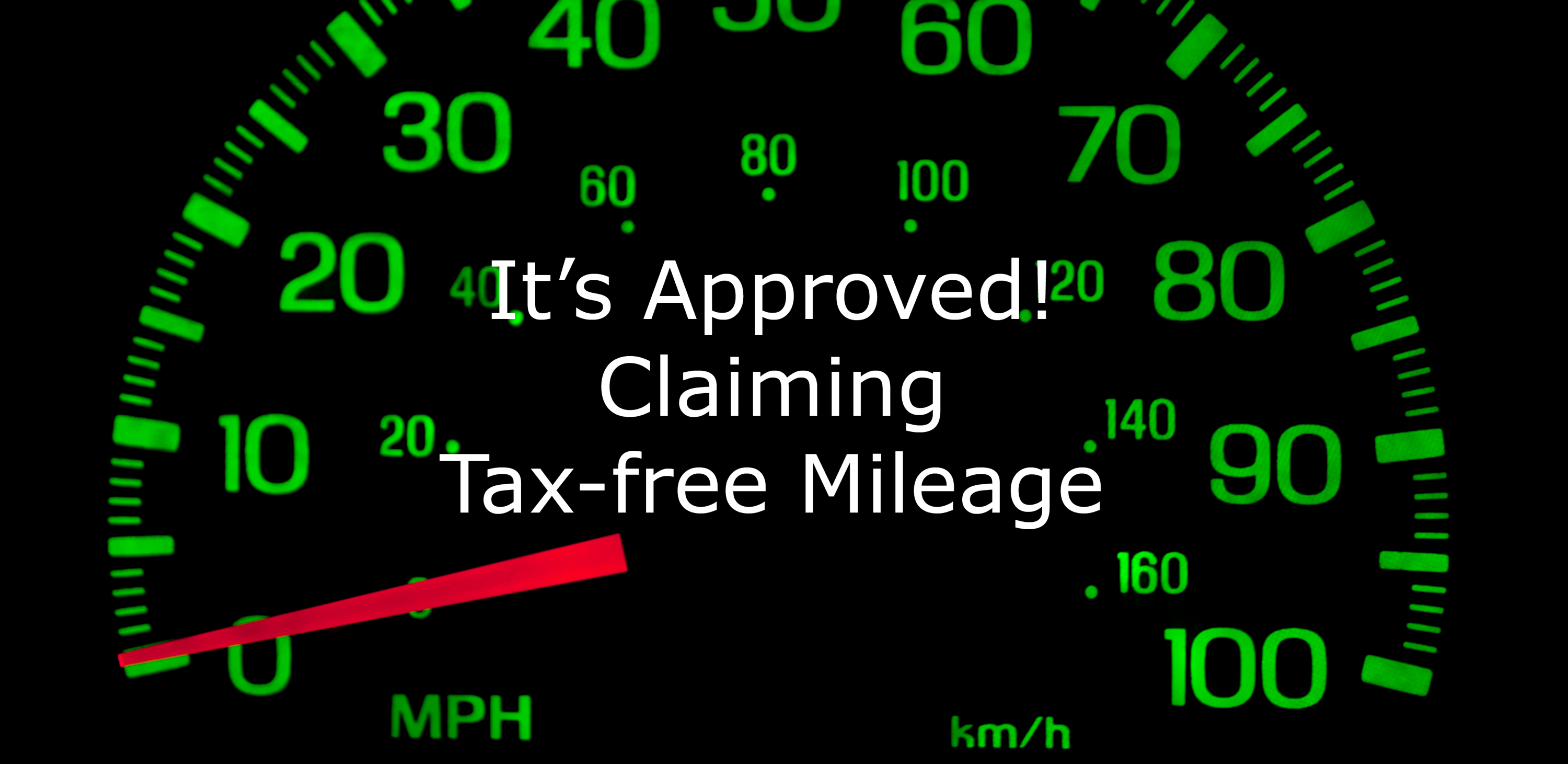 picture of mileometer for article on mileage allowance