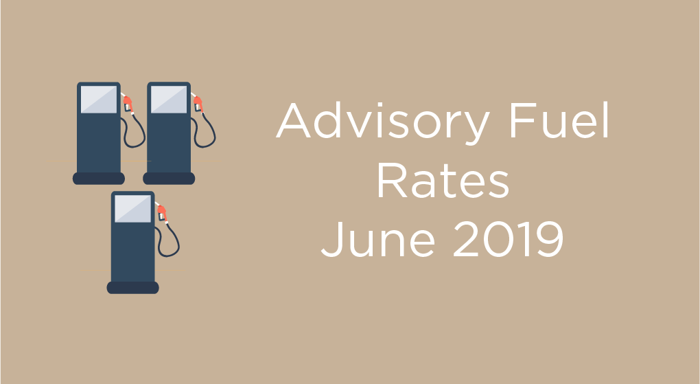 HMRC Advisory Fuel Rates From 1st June 2019